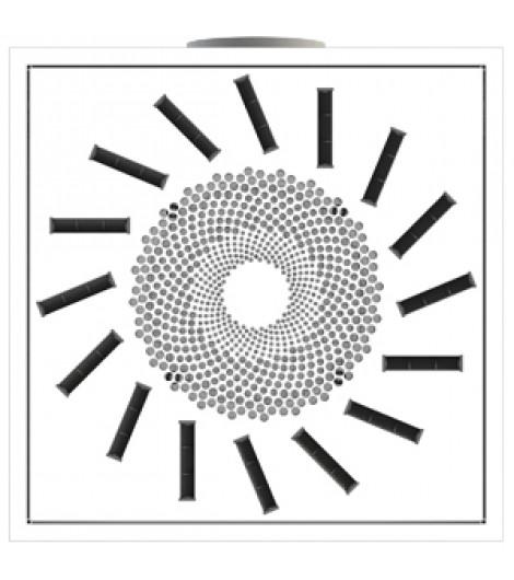 Вентиляционный потолочный диффузор NMF