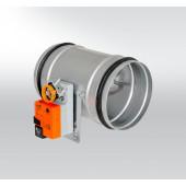 Регулировочная заслонка круглая герметичная RKKTM