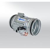 Регулятор расхода переменного потока воздуха круглый - для низких скоростей с высокой точностью RPM-LV