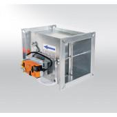 Регулятор расхода переменного потока воздуха прямоугольный RPMC-V